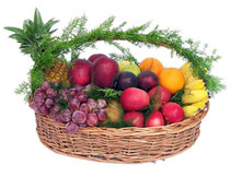 6 kg fresh fruit in a basket